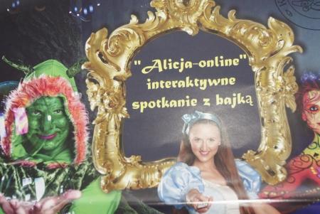 Alicja online spektakl interaktywny