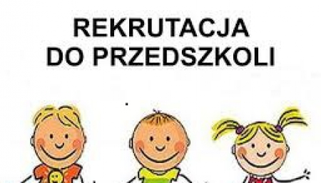 Listy dzieci przyjętych do przedszkola