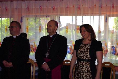Wizyta Biskupa w przedszkolu